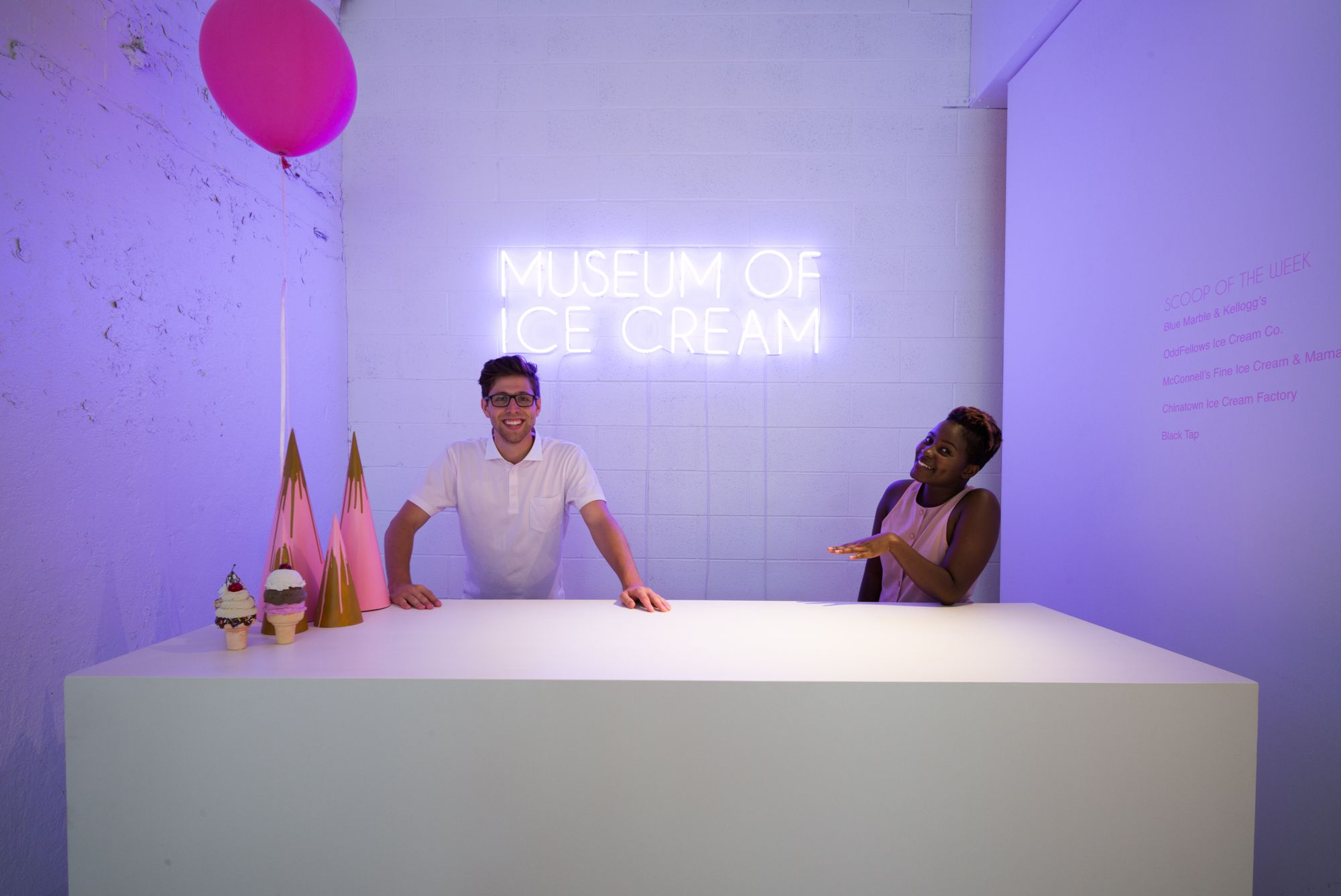 Museum Of Ice Cream Pop Up Opens With Sprinkles Galore