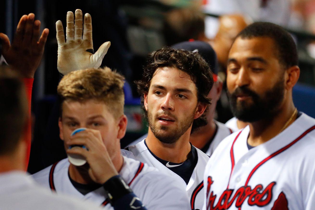 Jackson falls apart in 3rd inning, Padres lose 7-3 to Braves