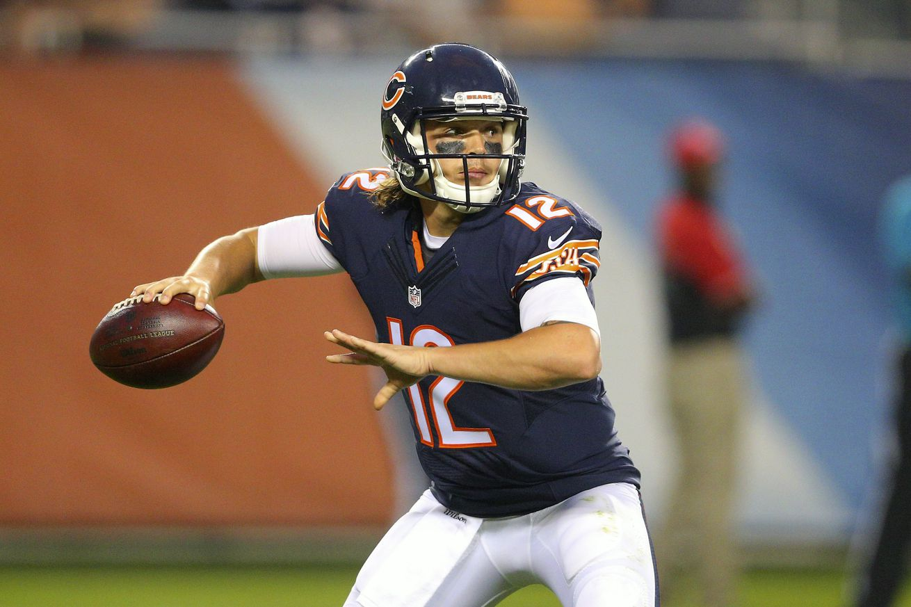 NFL Jerseys Outlet - Chicago Bears waive quarterback David Fales - Windy City Gridiron
