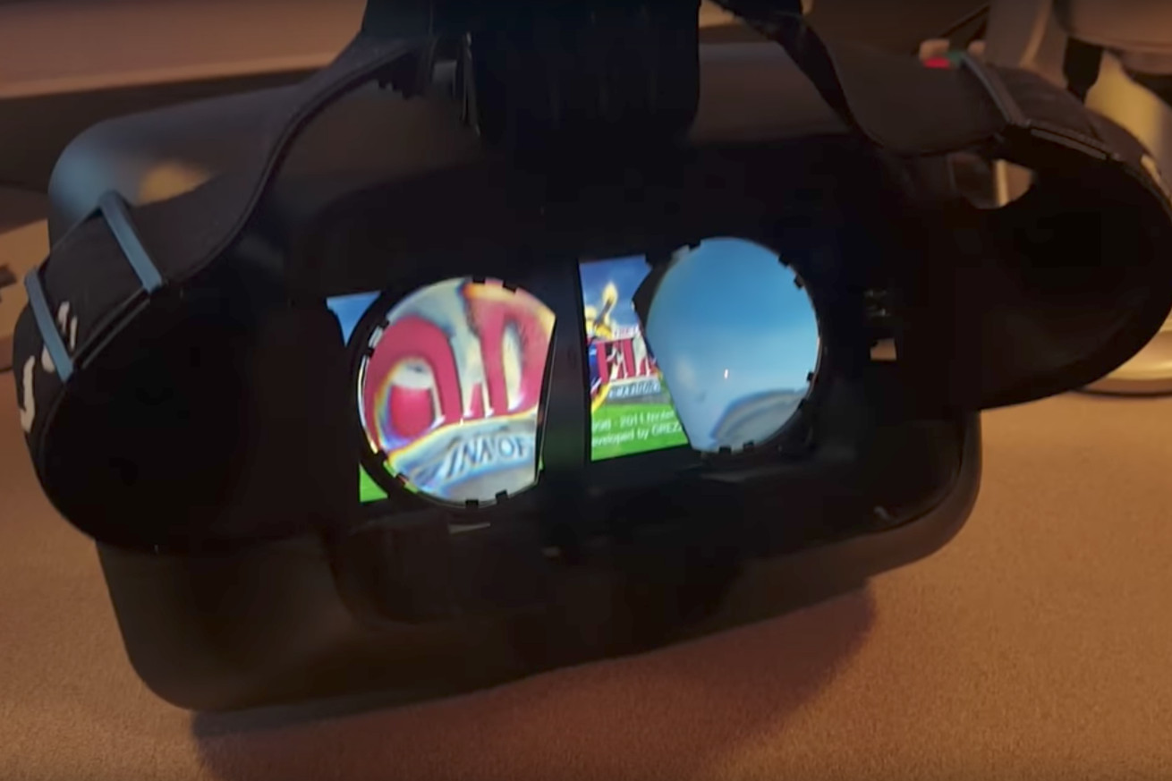 A gamer found a way to use his Nintendo Switch for VR