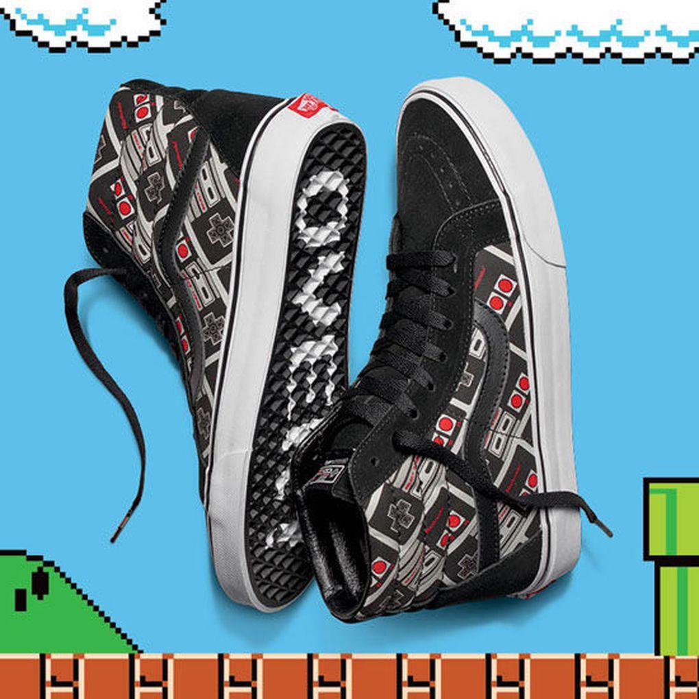 Vans Hi Sk8 Nintendo
