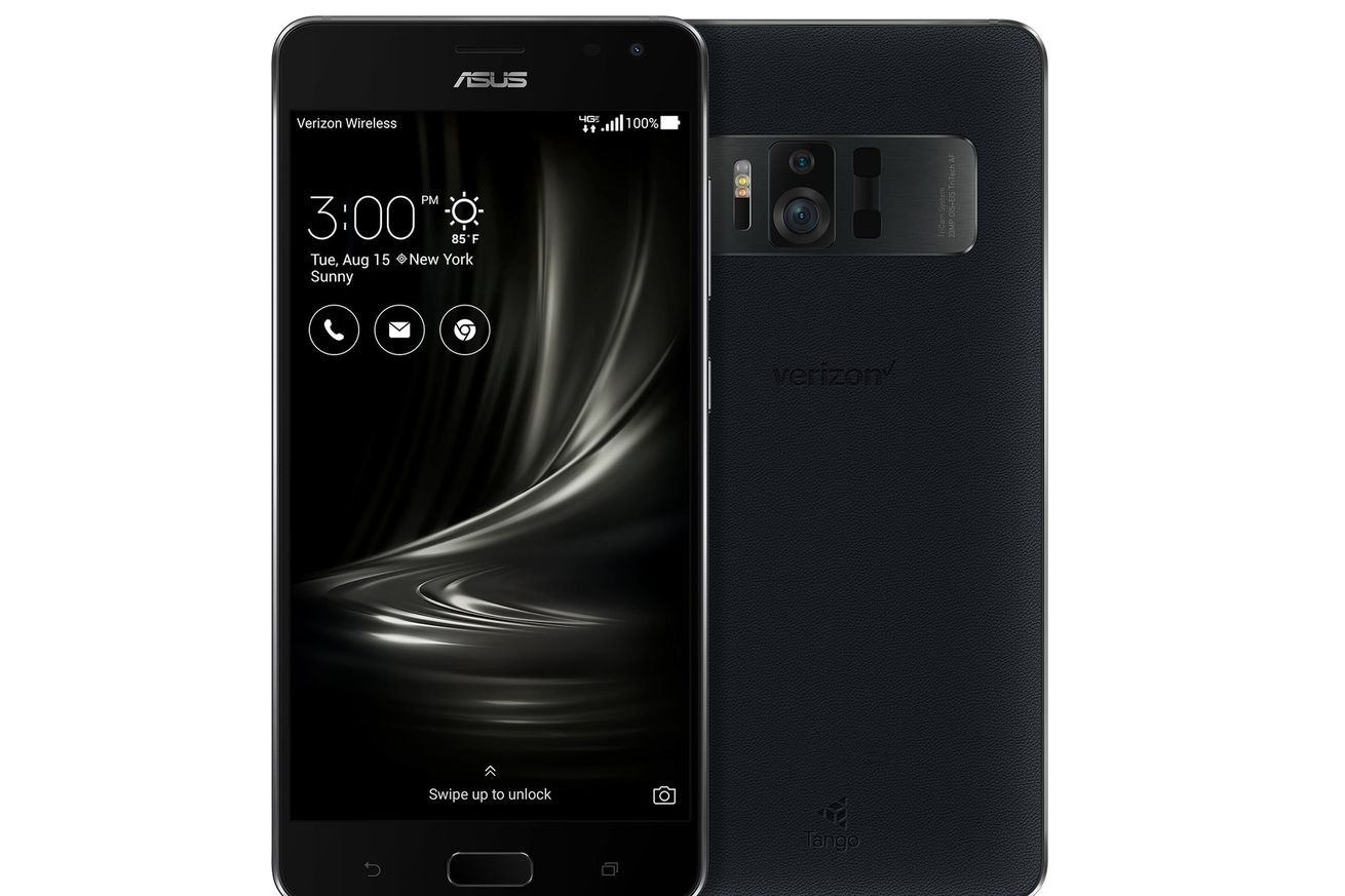 Verizon will sell the Asus ZenFone AR, which supports both Google Tango and Daydream