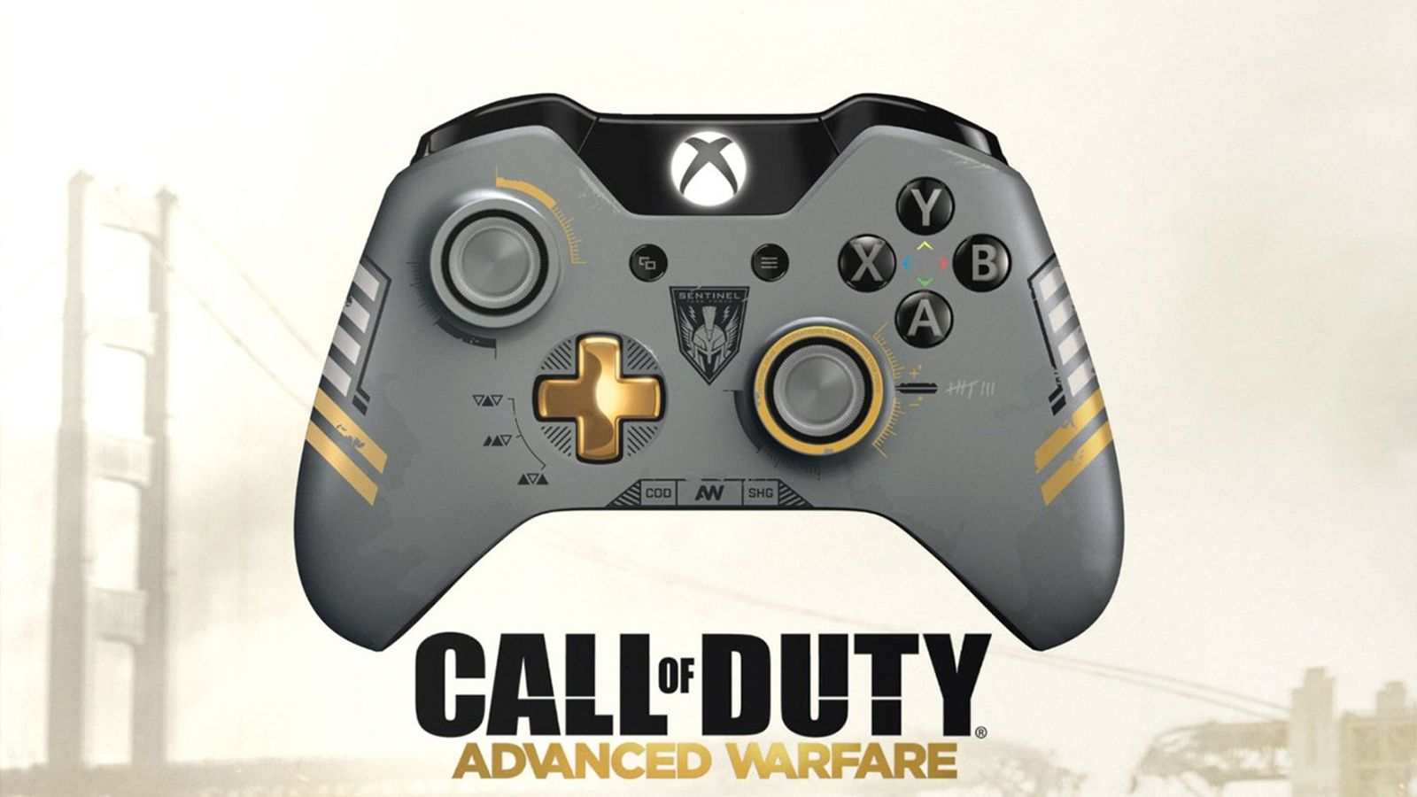 Call Of Duty Advanced Warfare Branded Xbox One Controller