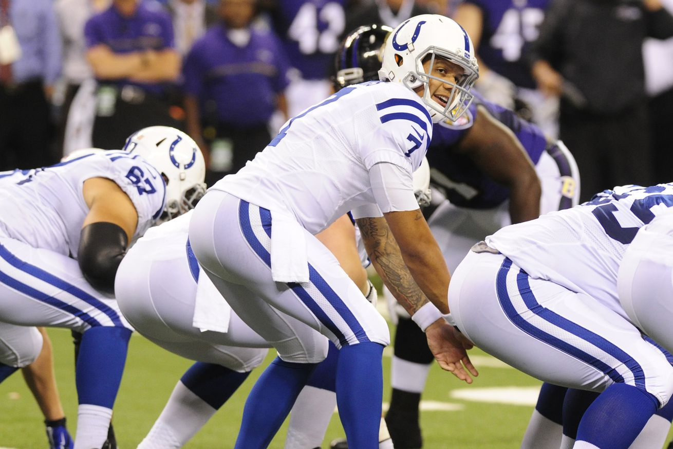 Colts preseason week two snap counts vs. Ravens: Notes and thoughts from the Colts' loss