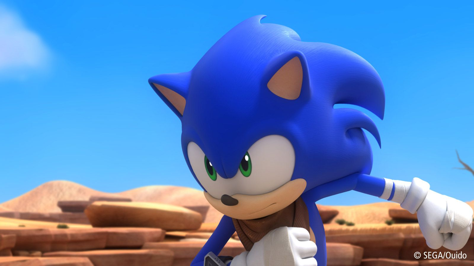 Sonic Boom gets an animated TV series, toy line from Tomy ...