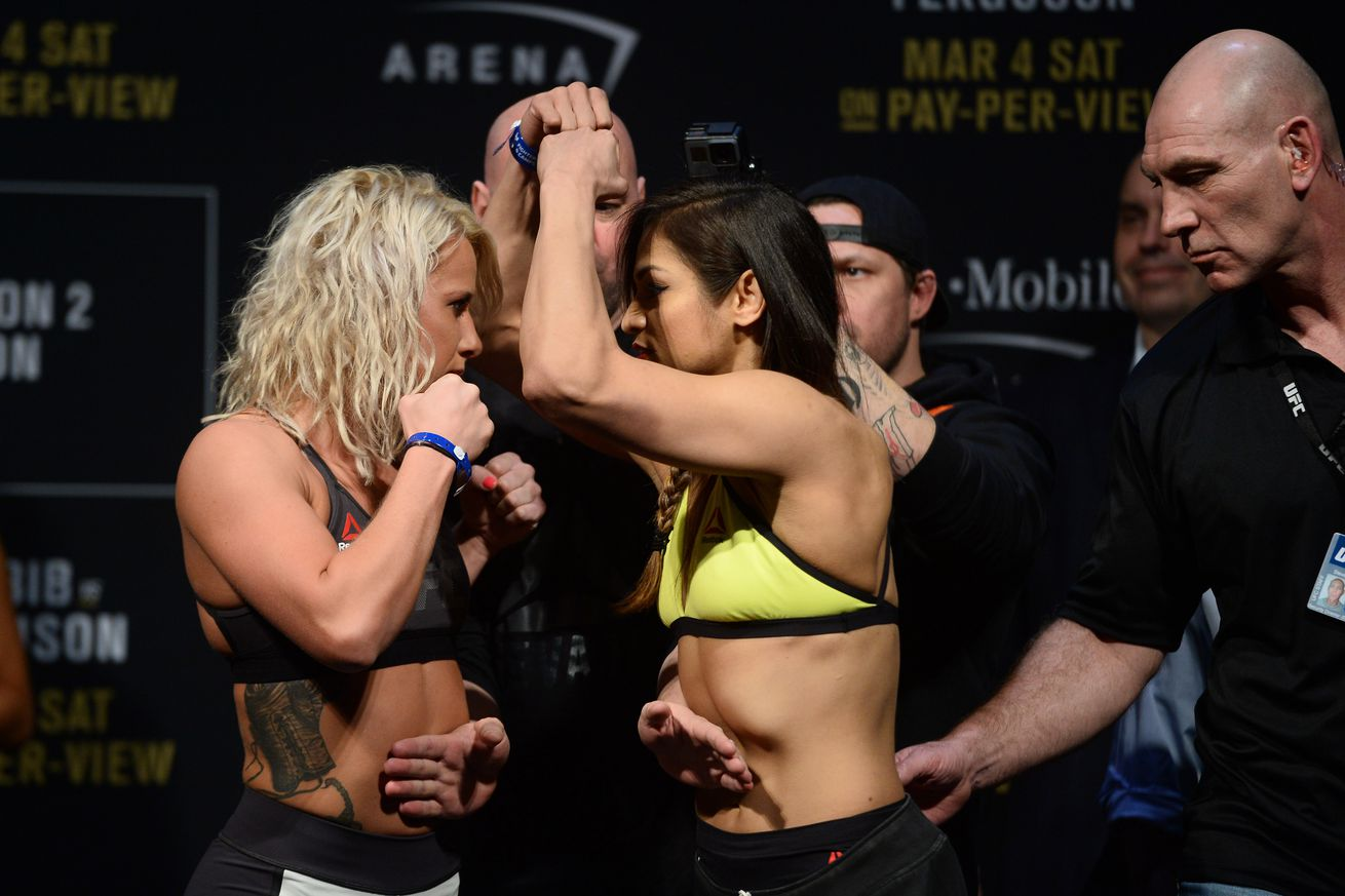community news, UFC 209 results:  Cynthia Calvillo chokes out Amanda Cooper in impressive Octagon debut