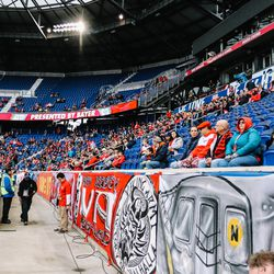 Just another lightly-attended, early-season RBNY game