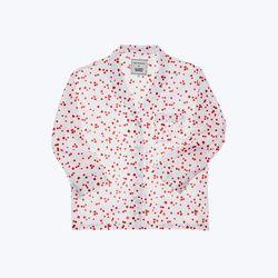 "Sleepy Jones <a href=""http://shop.sleepyjones.com/products/marina-pajama-shirt-1"">Marina Pajama Shirt</a>, $158"