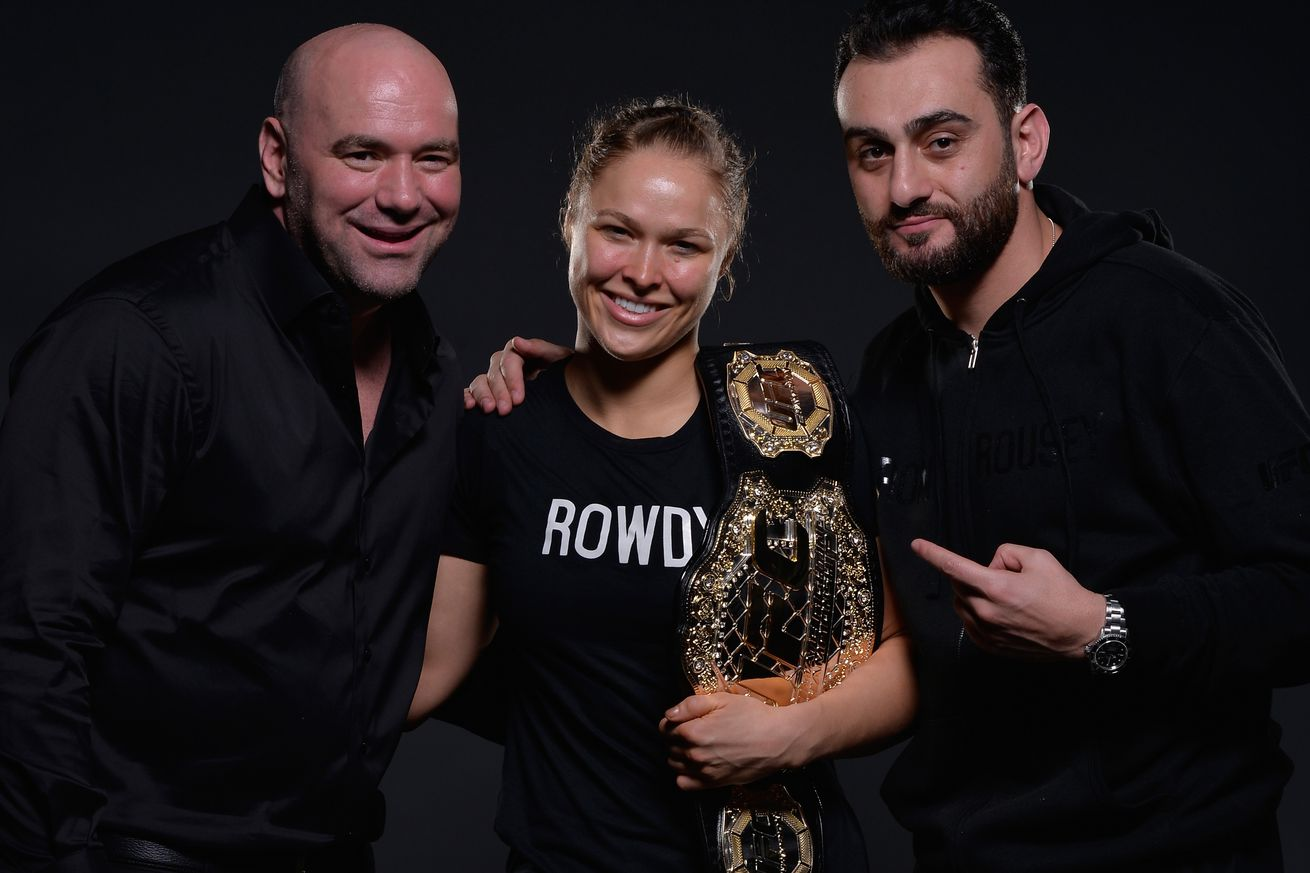 community news, Dana White: I hugged Ronda Rousey for 45 minutes, I told her 'I love you so much'