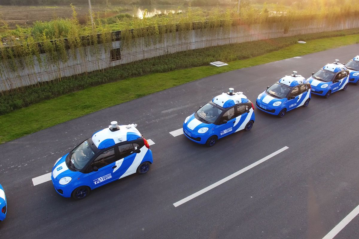 China's Baidu to launch self-driving auto technology this year
