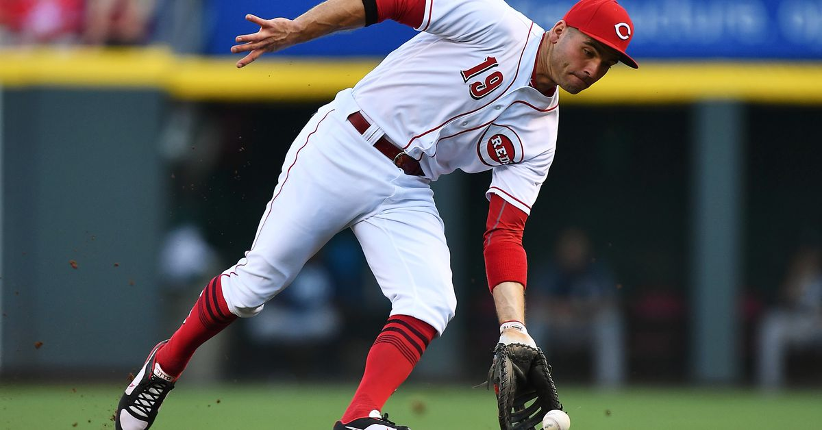 Joey Votto is on the cusp of something he's never done ...