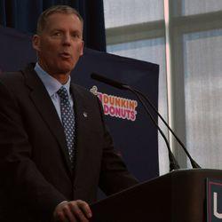 UConn Football Coach Randy Edsall