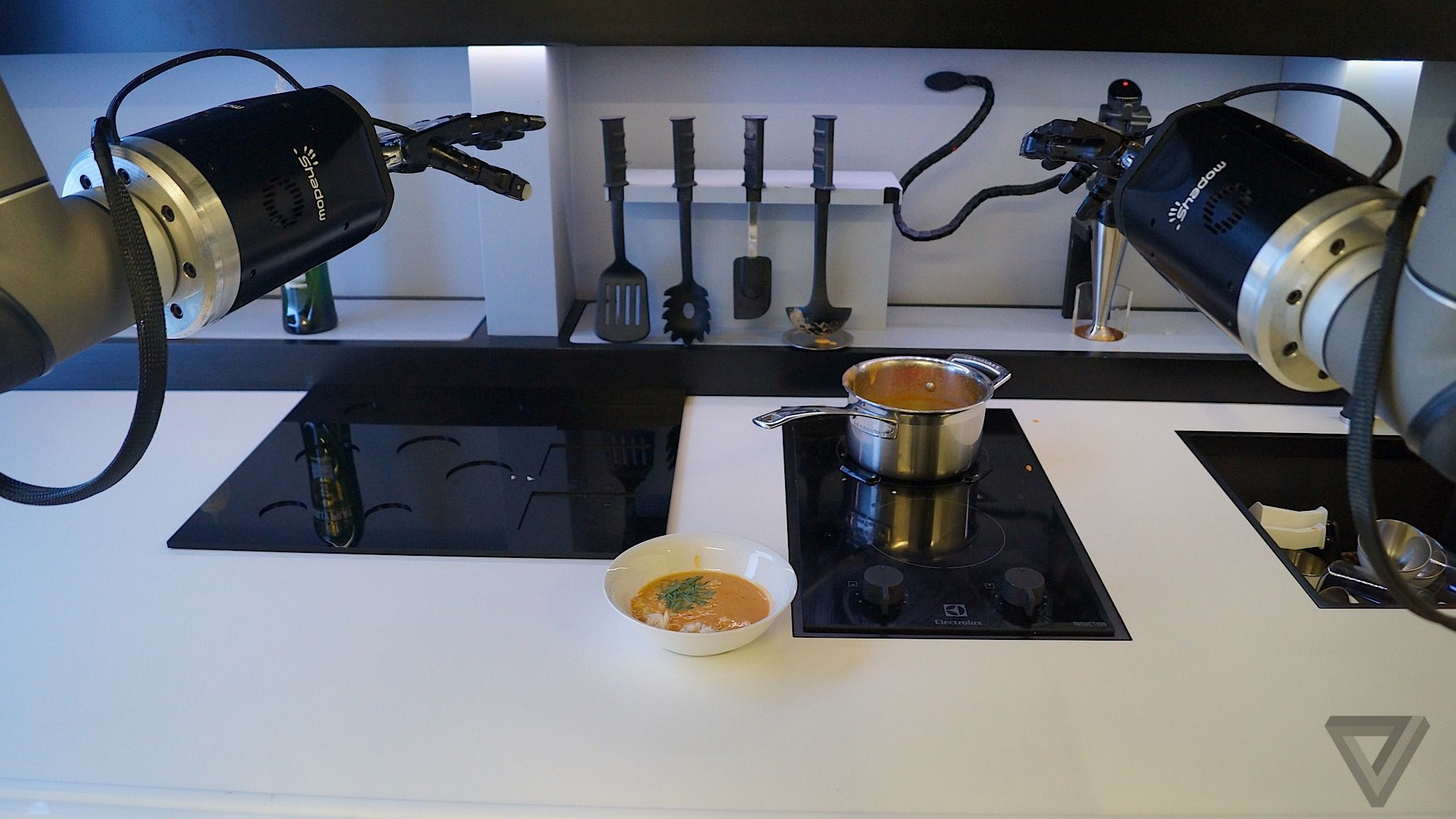 i ate crab bisque cooked by a robot chef the verge