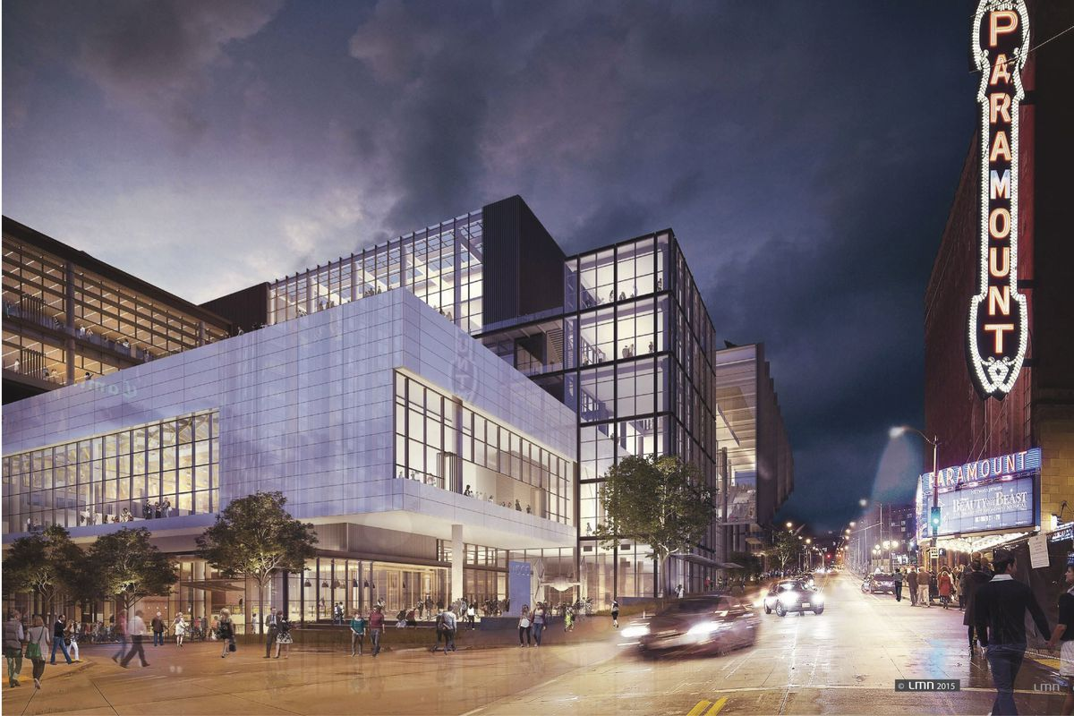 Inside the Washington State Convention Center Expansion ...