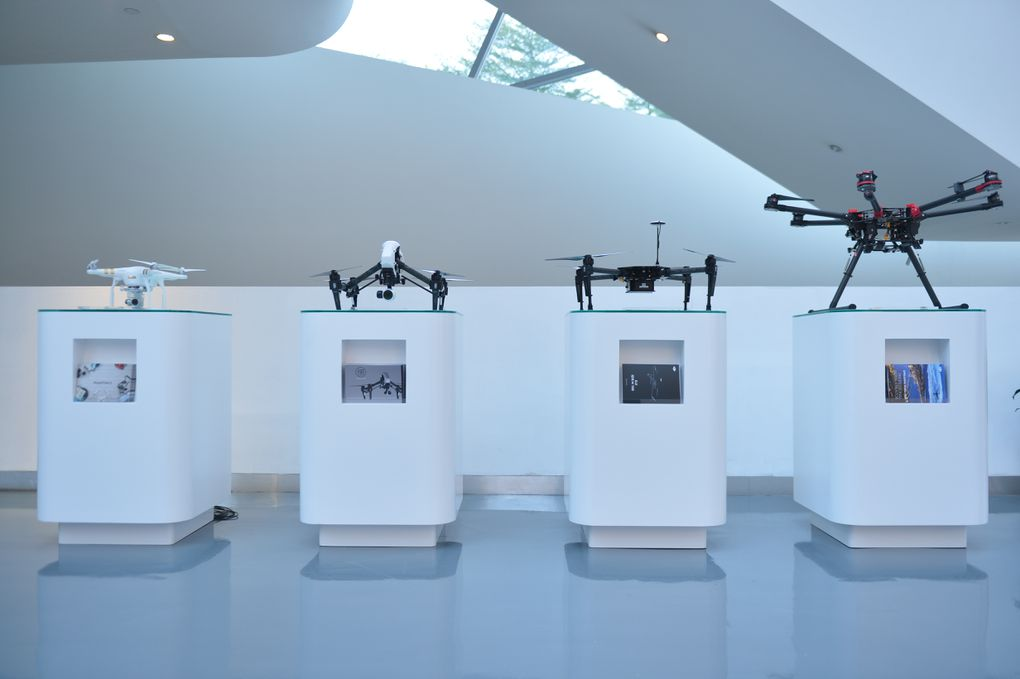 Take a closer look inside DJI's flagship drone store