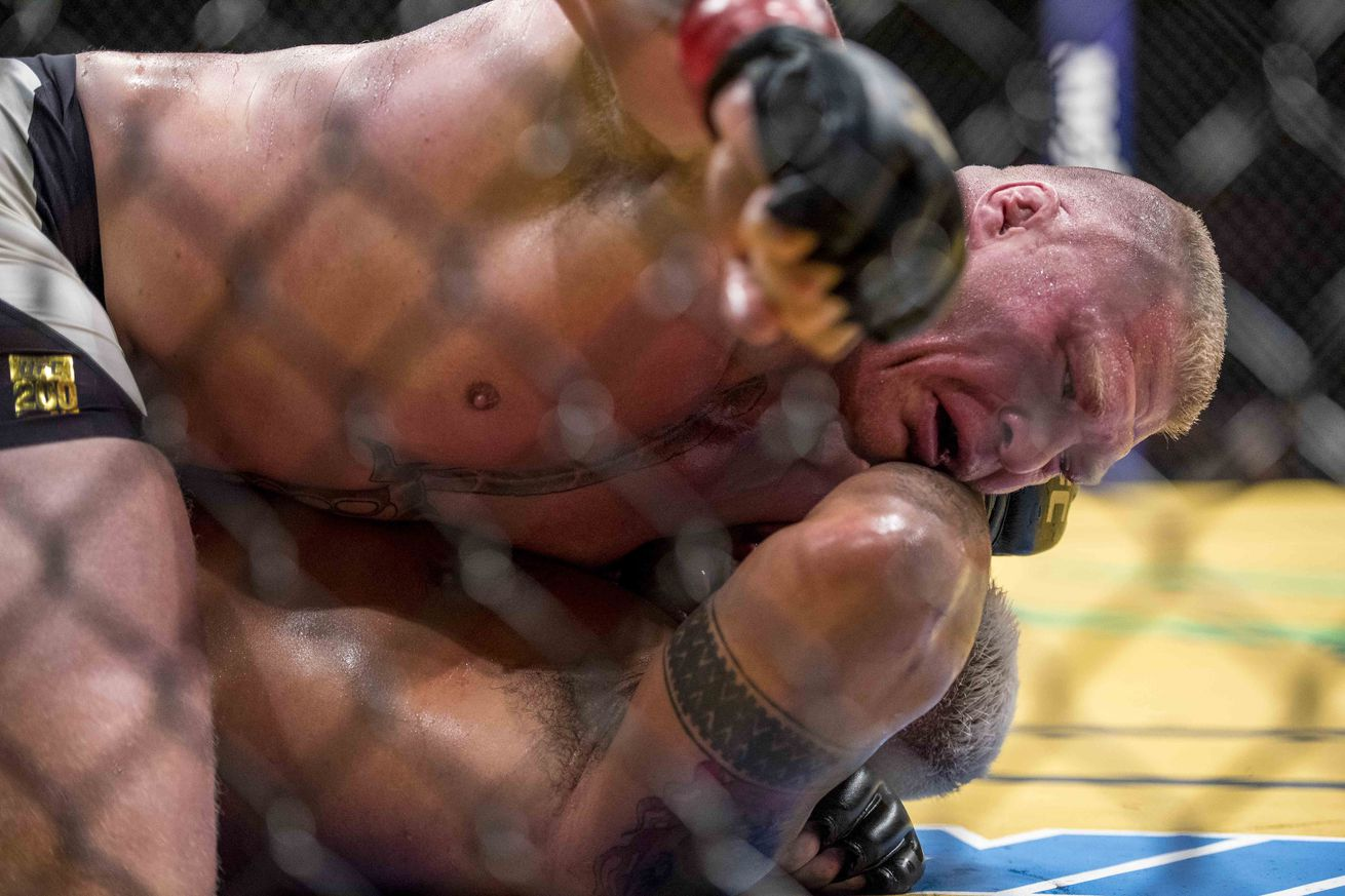 Brock Lesnar popped for potential USADA violation dating back to June 28 out of competition test