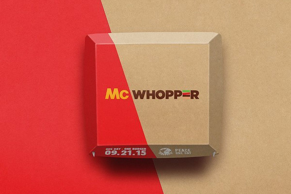mcdonald s politely declines burger king s offer of world peace burger king