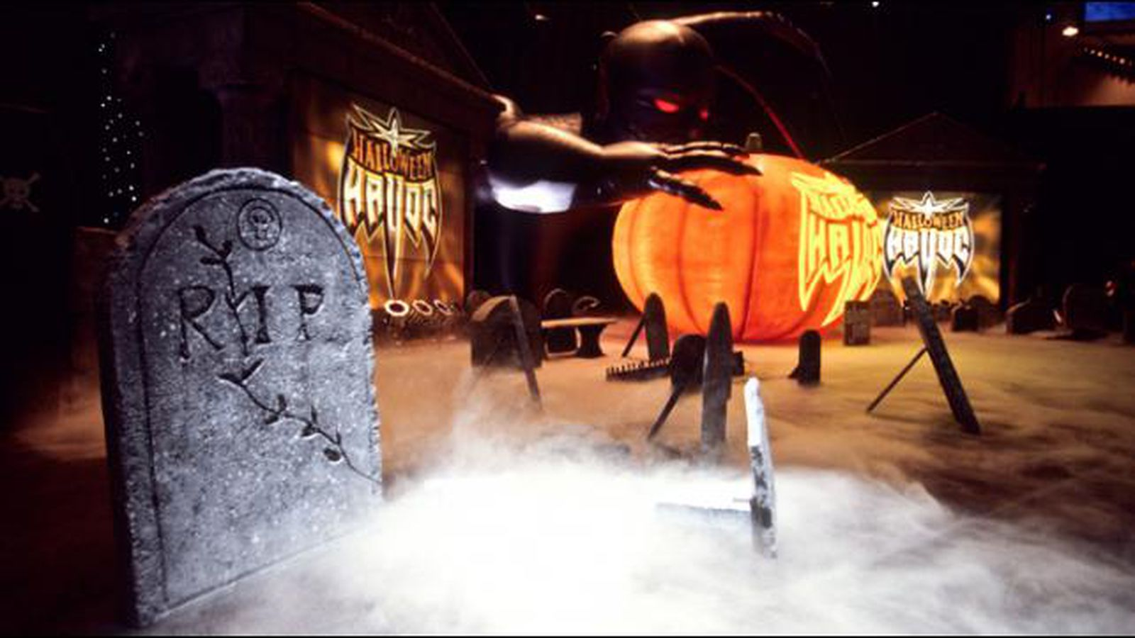 Halloween Havoc Halloween Havoc 3999 Review Hired Russo Cageside Seats