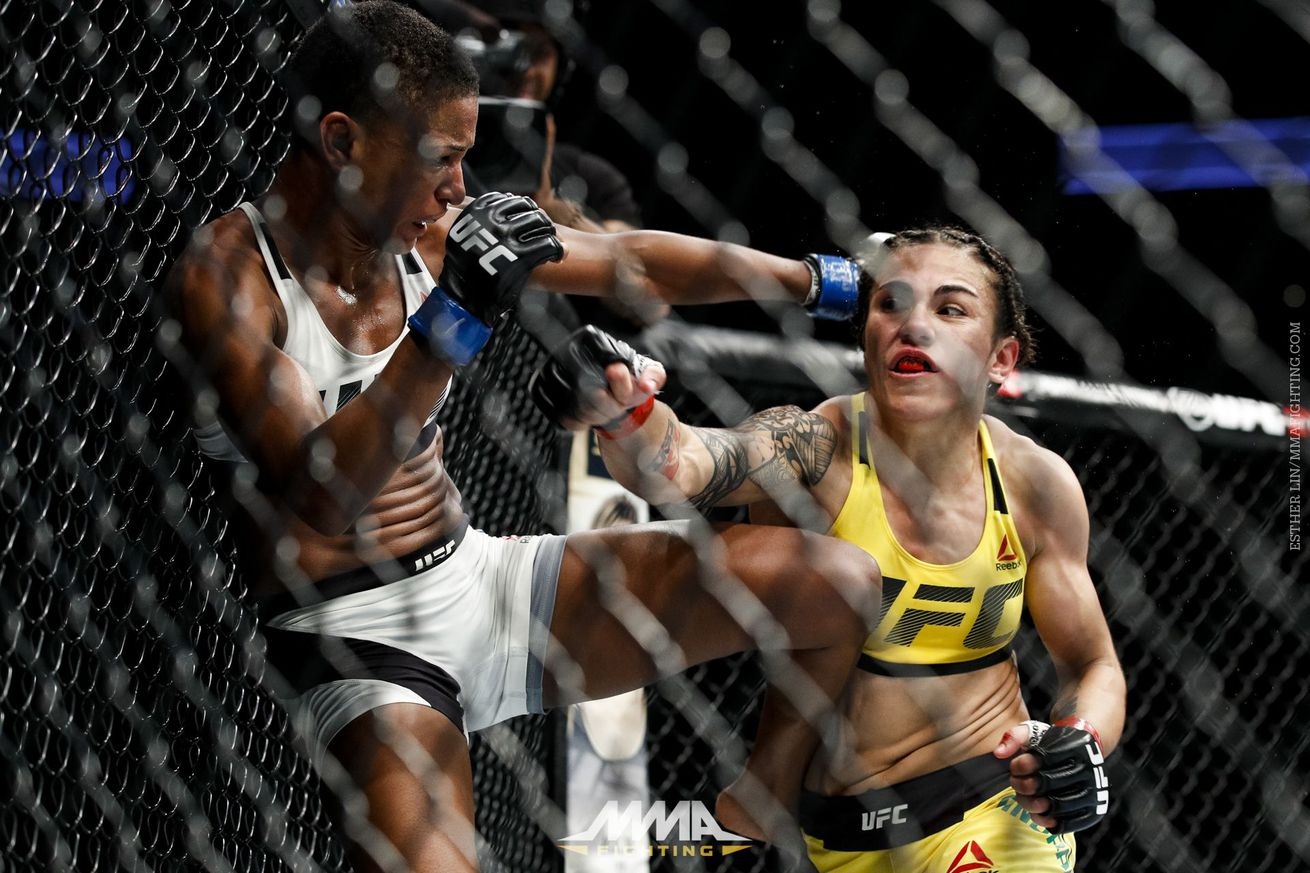 community news, Jessica Andrade stood out in Houston, and yet so did the need of a flyweight division