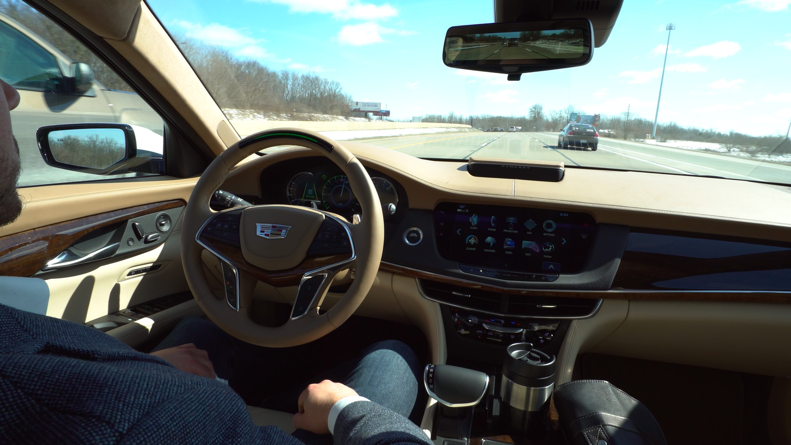 Cadillac Takes Aim at Tesla's Autopilot with 'hands-free' Super Cruise Technology, Available this Fall