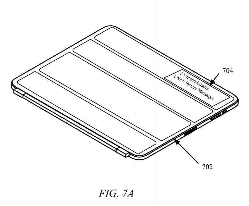 Apple iPad cover patent