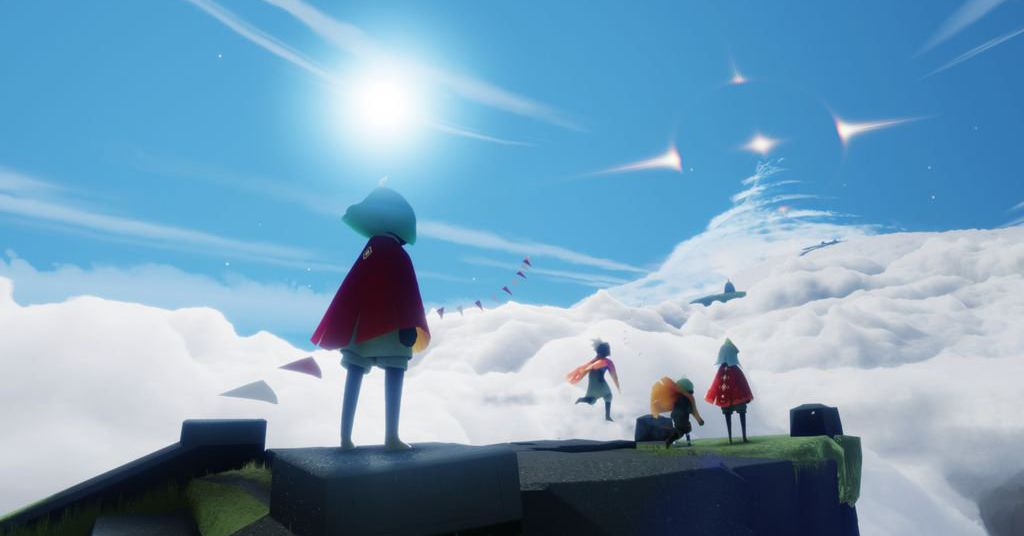 Sky is thatgamecompany's next game, and it's coming first to Apple