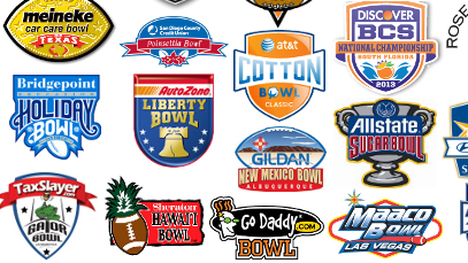college football bowl projections 2012