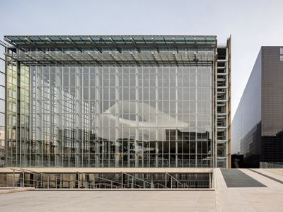 New convention center in Rome is the city?s largest building in over 50 years