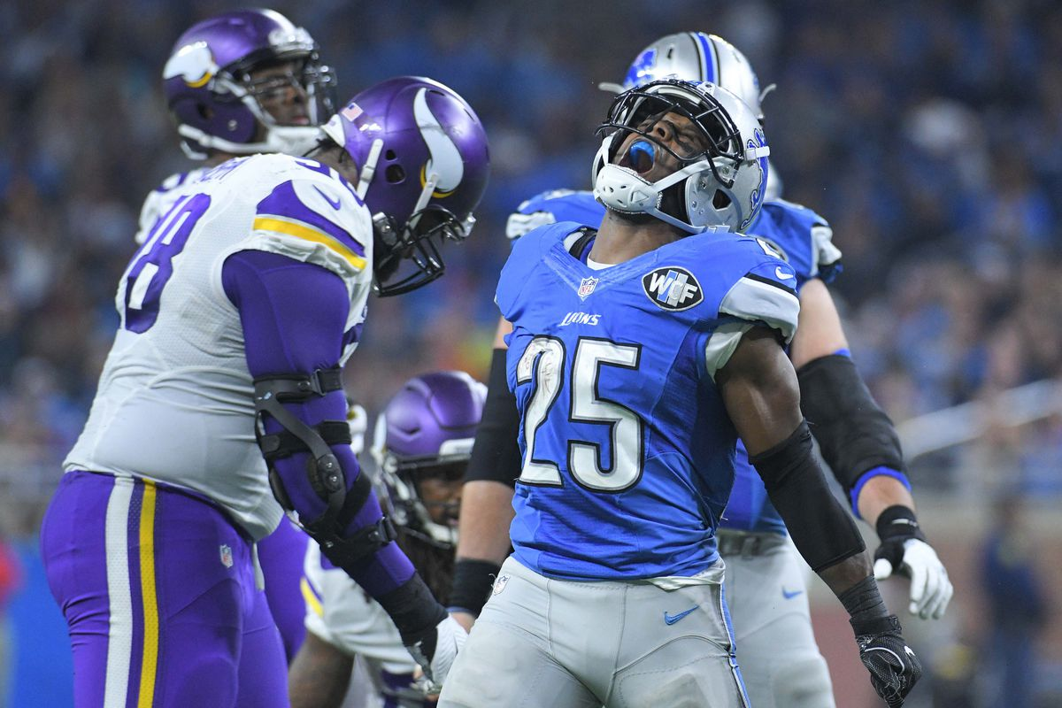 Theo Riddick had surgery on both wrists