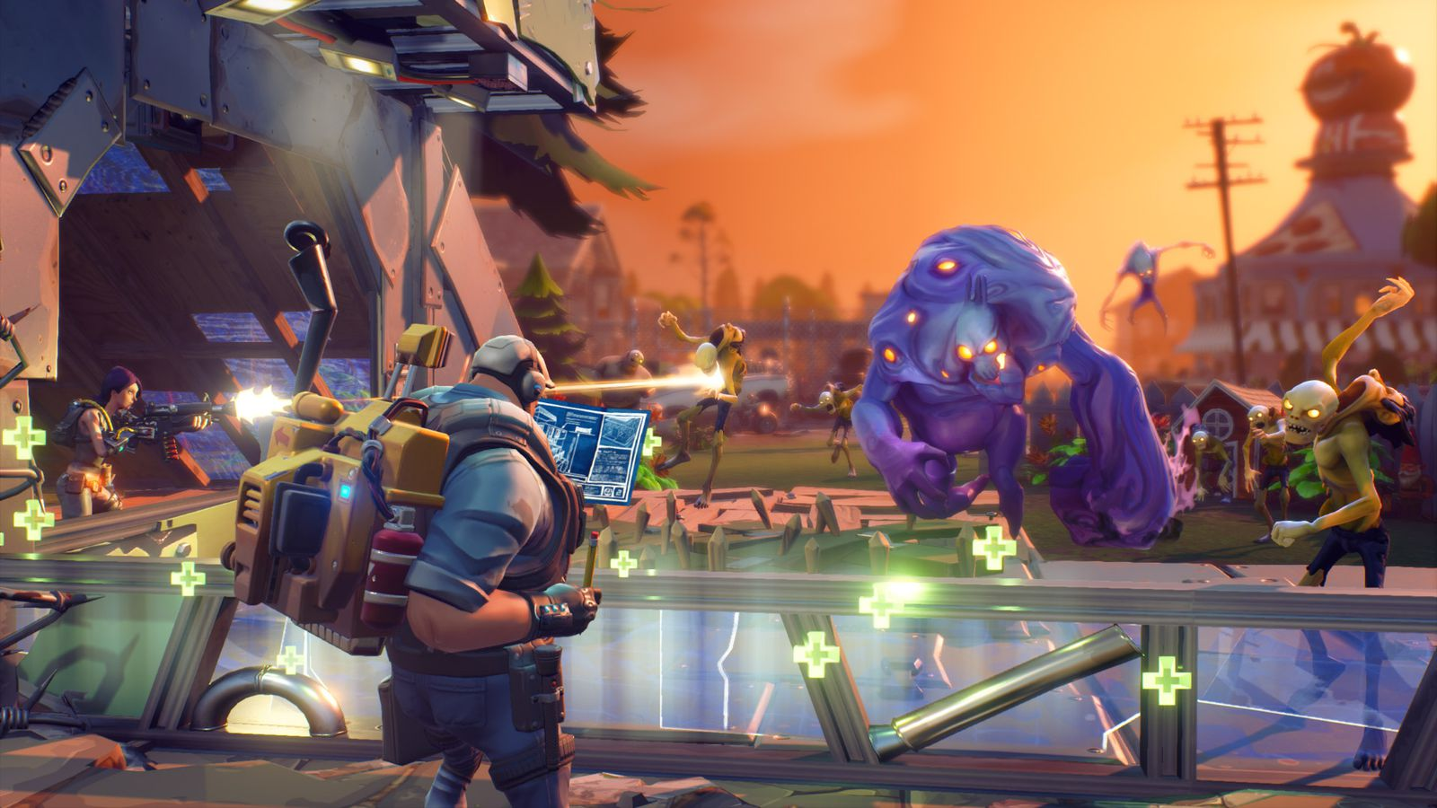 Hands-on with Fortnite, Epic Games' curious survival construction ...