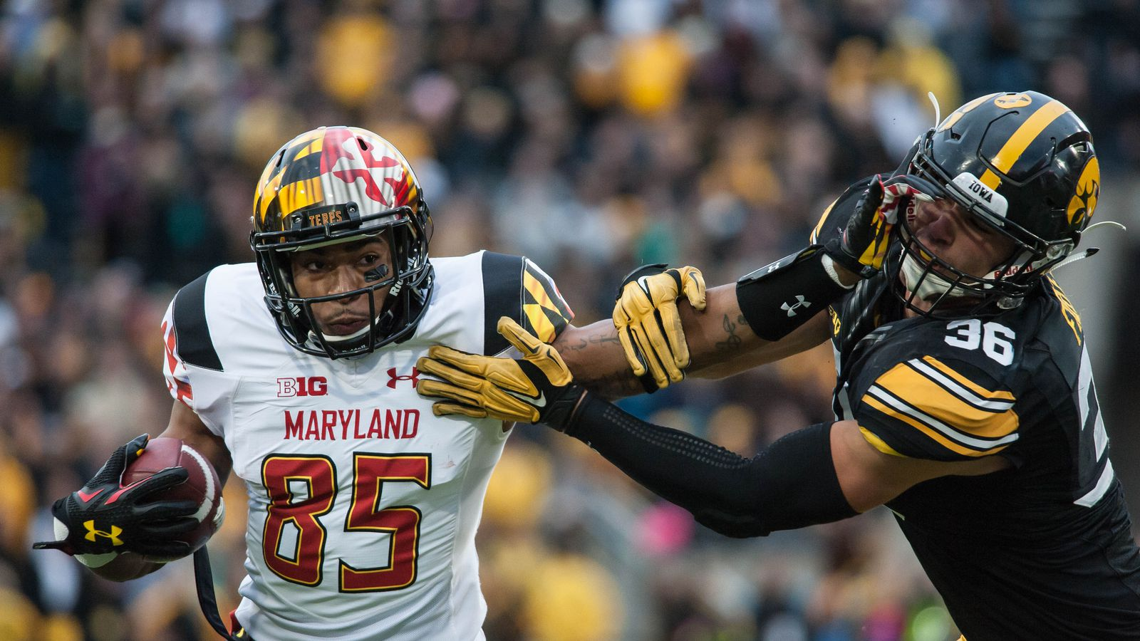 Pin By Md Minhajul Mamun On Soccer Players: Maryland Football WR Jahrvis Davenport Has Room (and A