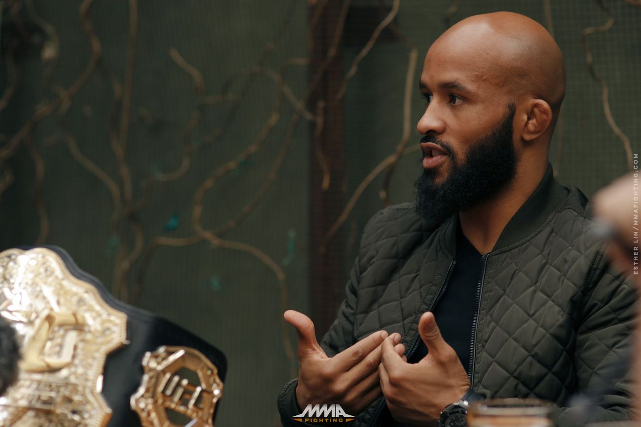 Demetrious Johnson says he'd fight Cody Garbrandt at 135 or 125