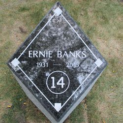 First marker. It was announced at the time that a second, permanent marker would be installed at a future date
