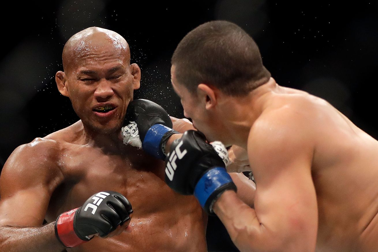 UFC on FOX 24 medical suspensions: Jacare Souza out 30 days