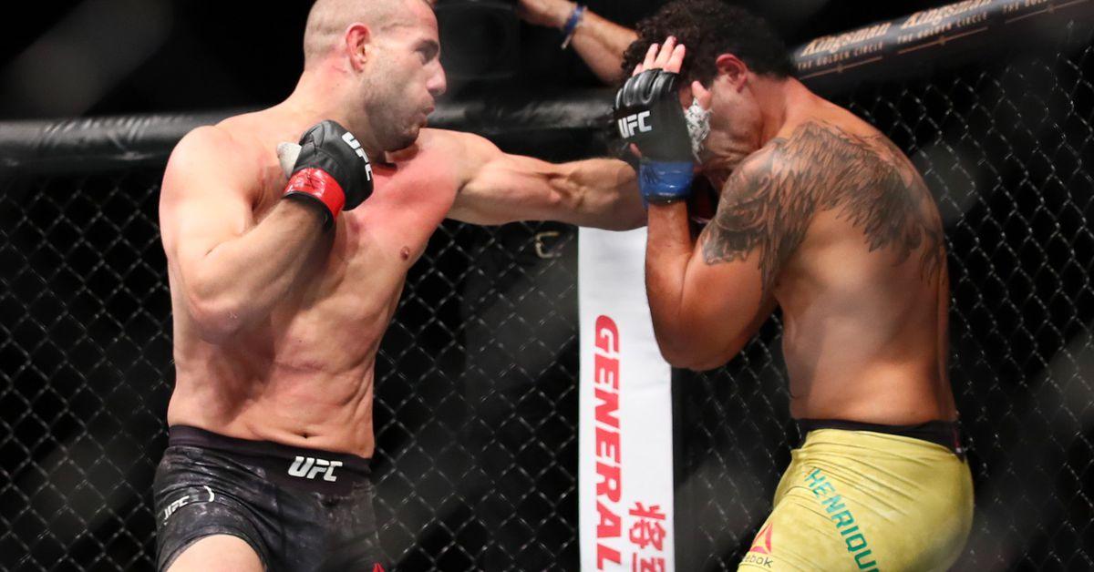 Gokhan Saki returns against Khalil Rountree at UFC 219