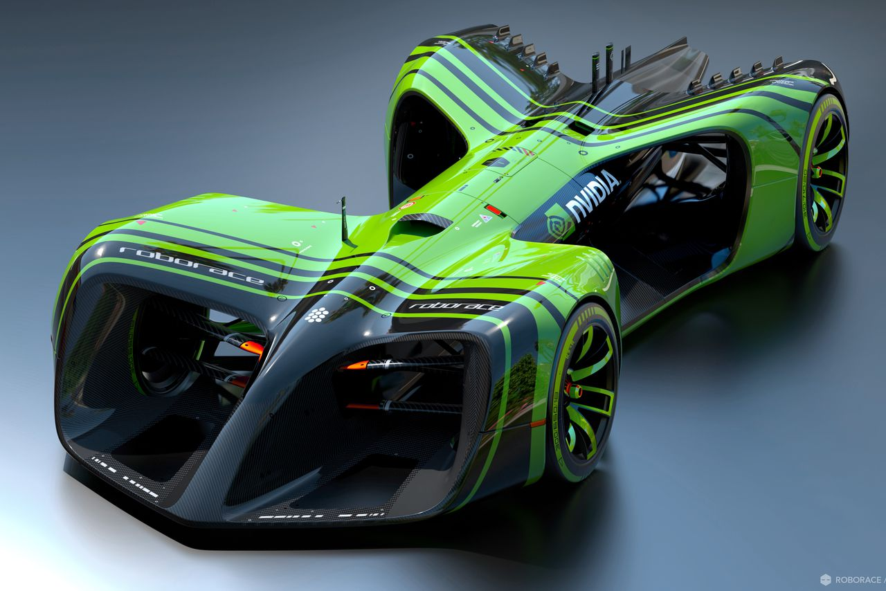 The Self Driving Race Cars Of Roborace Will Have A Brain