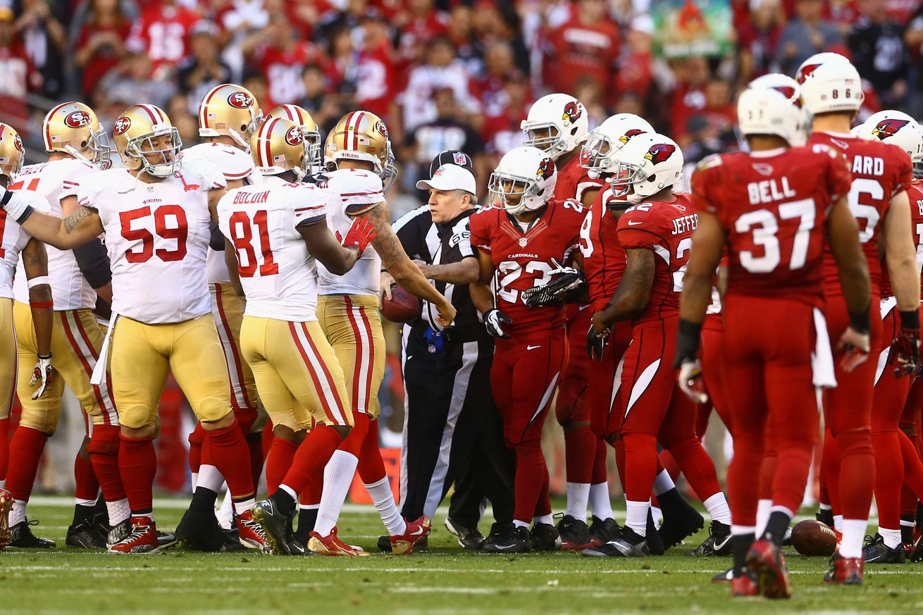 NFL Jerseys Outlet - Cardinals vs. 49ers: There's history between Arizona and San ...