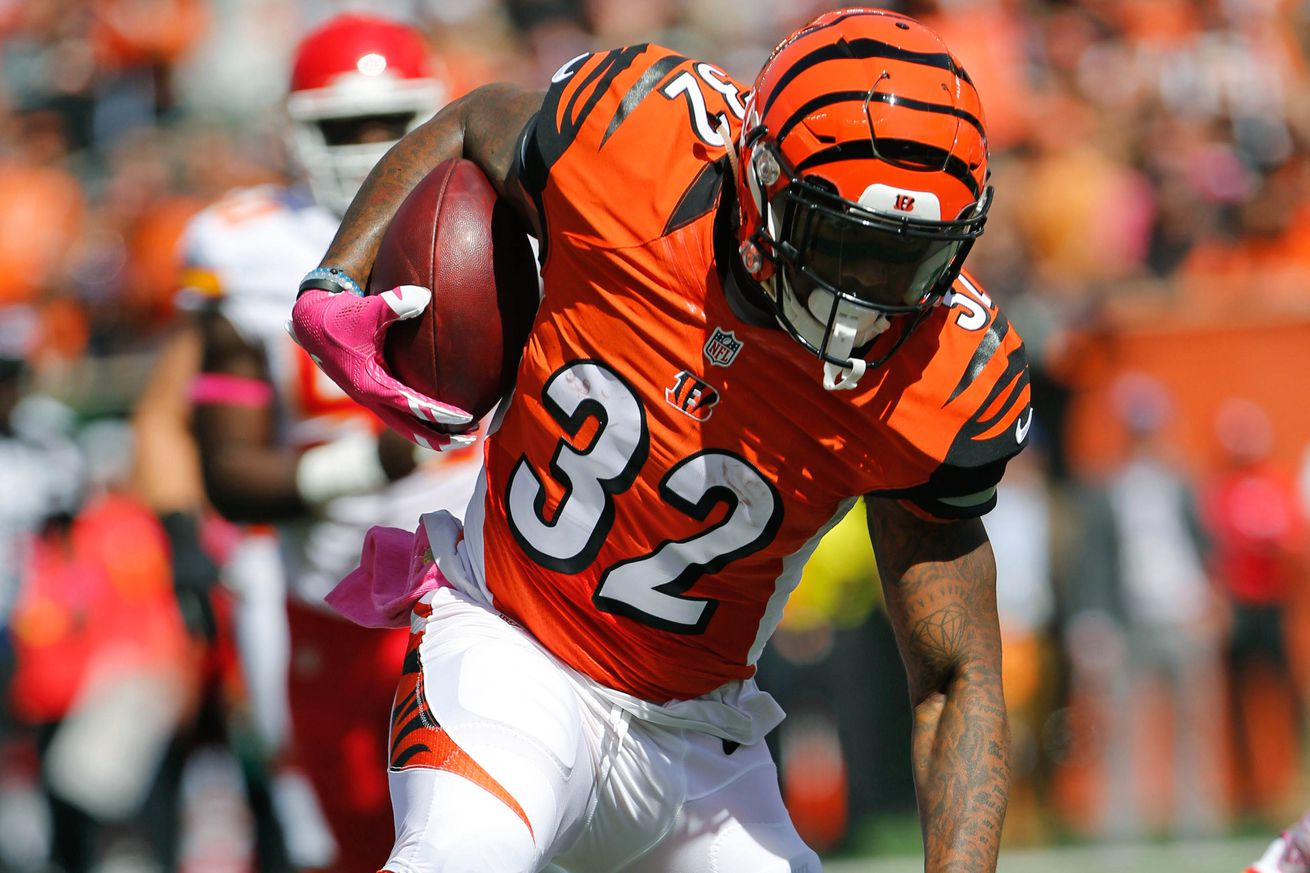 Bengals' ground game needs some attention as Jeremy Hill struggles ...