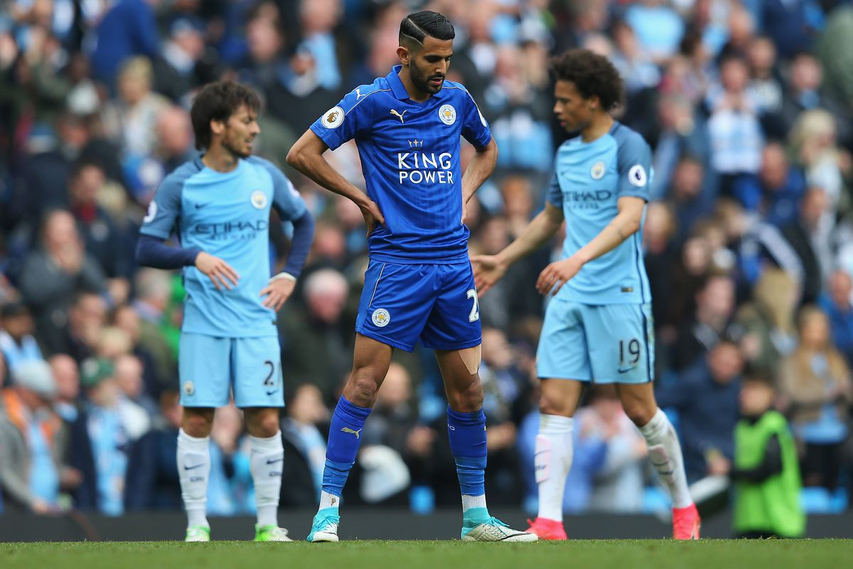 Man City and Leicester City Settled for 2-1 Win