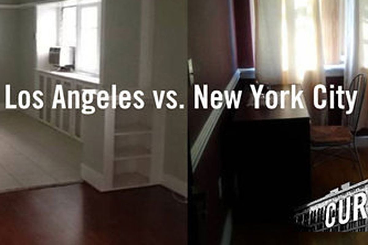 Rent battle what you can get in los angeles vs new york for New york city to los angeles
