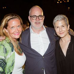 From left, Kristen D'arcy (American Eagle Outfitters), Troy Young (Hearst), and Dee Salomon (MediaLink)