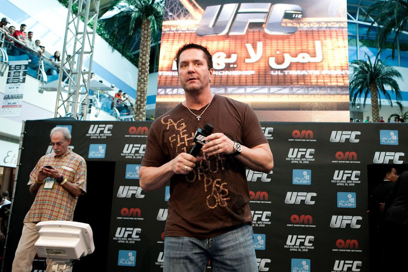 community news, Mike Goldberg on UFC release: It took WME IMG 15 minutes to destroy a family that was formed over 15 years