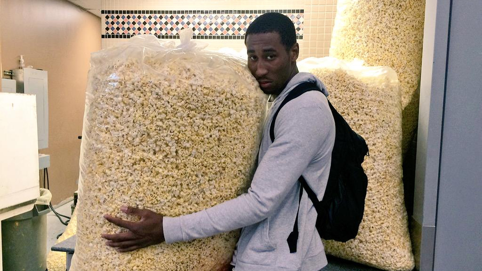 Massive Bags Of Popcorn Confederated
