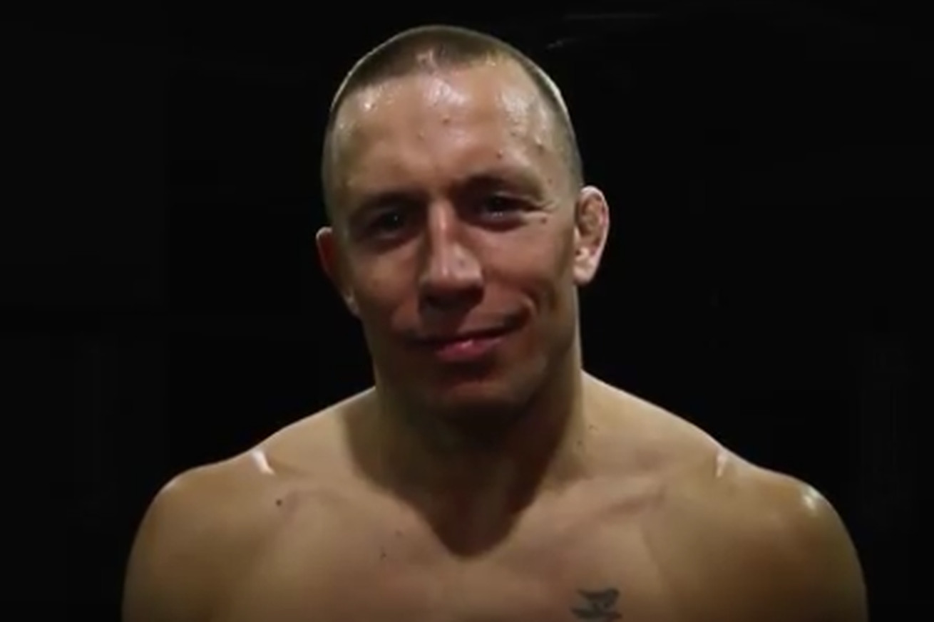 Georges St Pierre releases comeback video after re signing with UFC earlier this week