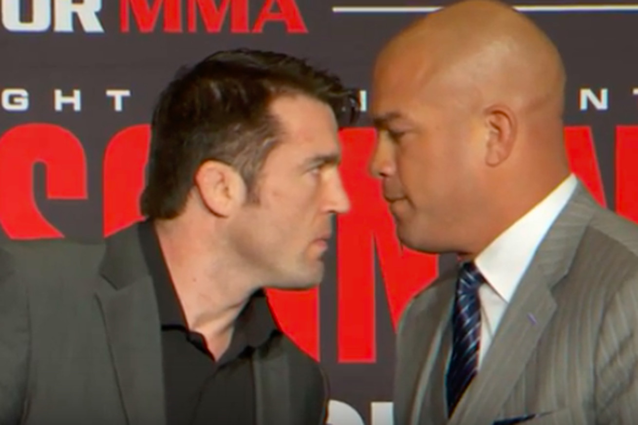 community news, Video: Upbeat Chael Sonnen reacts to Tito Ortiz submission loss at Bellator 170   Im embarrassed to lose like this
