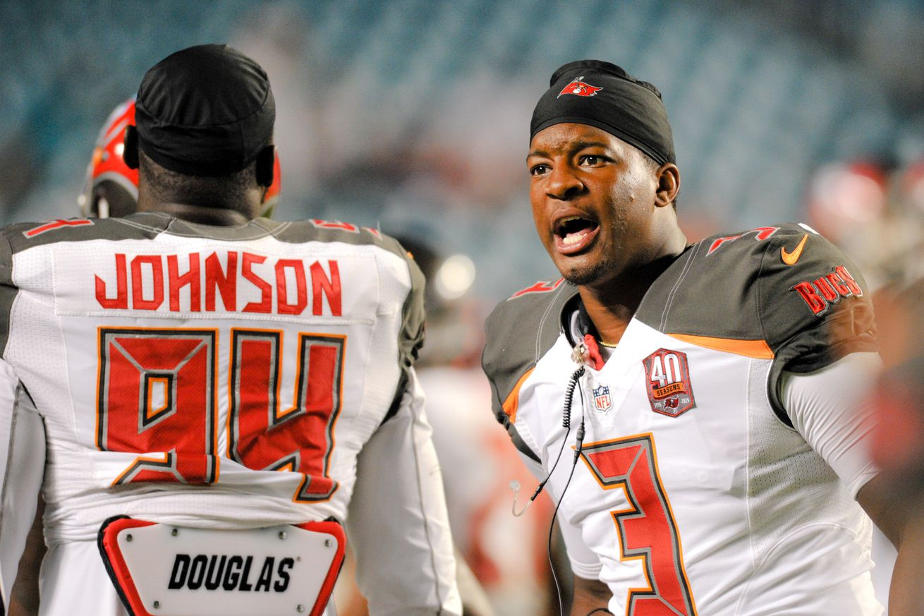 Jerseys NFL Wholesale - George Johnson is a bust, and other Buccaneers snap count ...