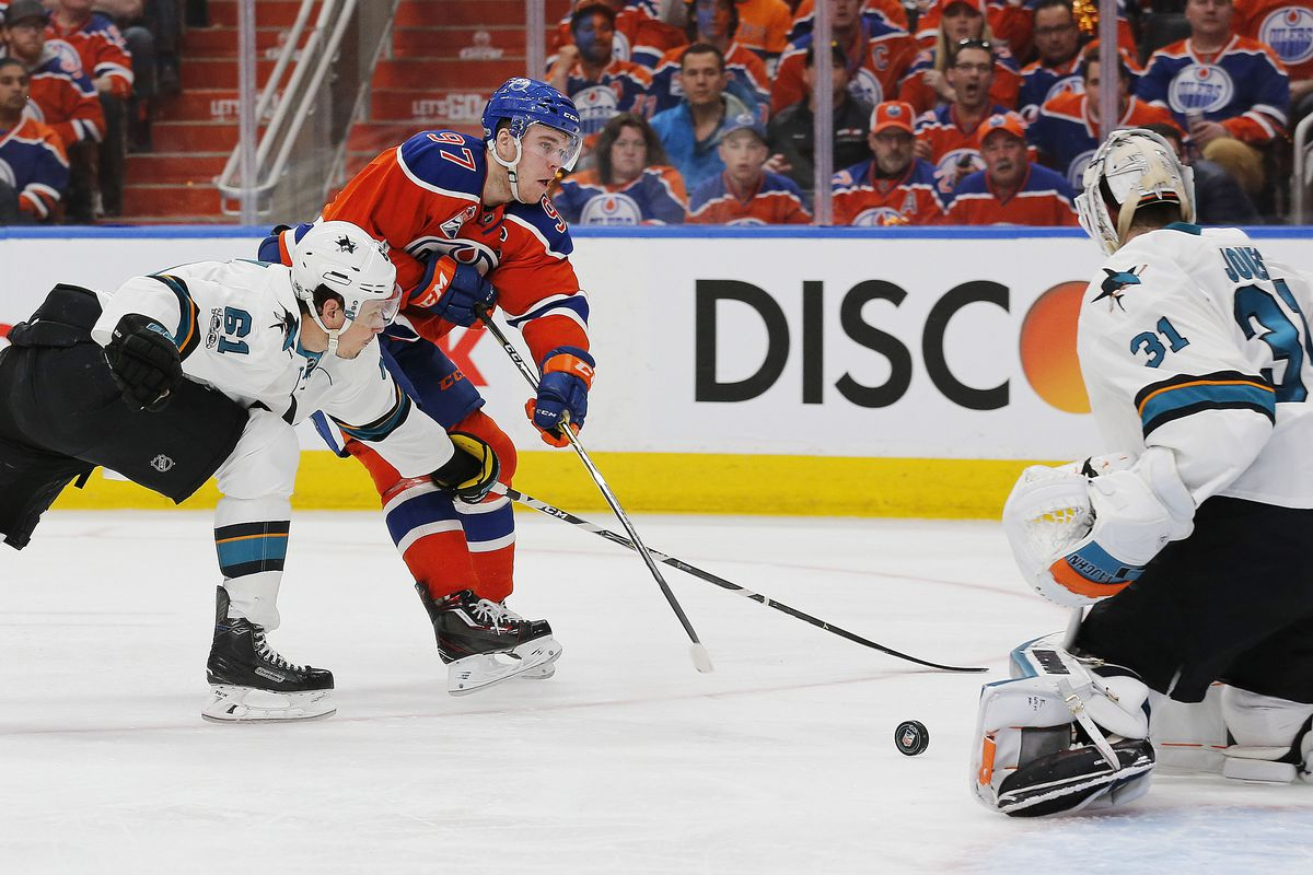 Experience Vs. Inexperience as San Jose Sharks Open Playoffs Against Oilers