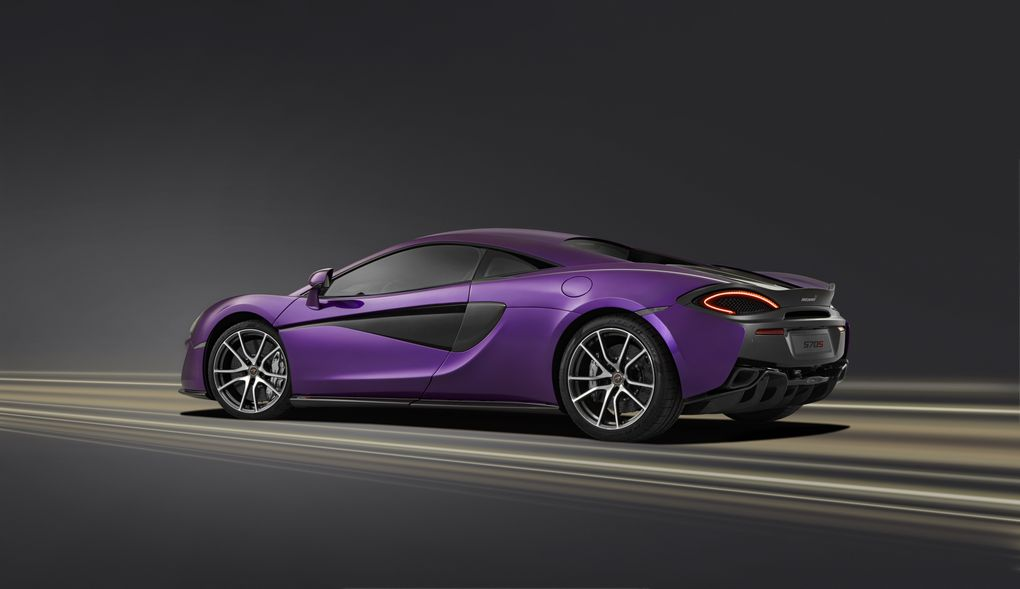 There Is Nothing More Purple Than Mclaren S Mauvine Blue