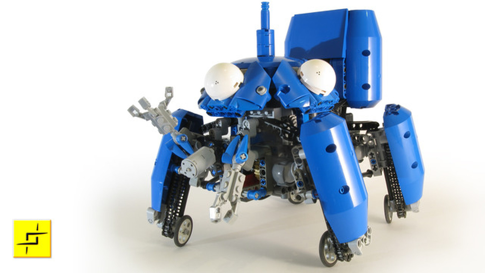 Motorized Lego Tachikoma From Ghost In The Shell Walks