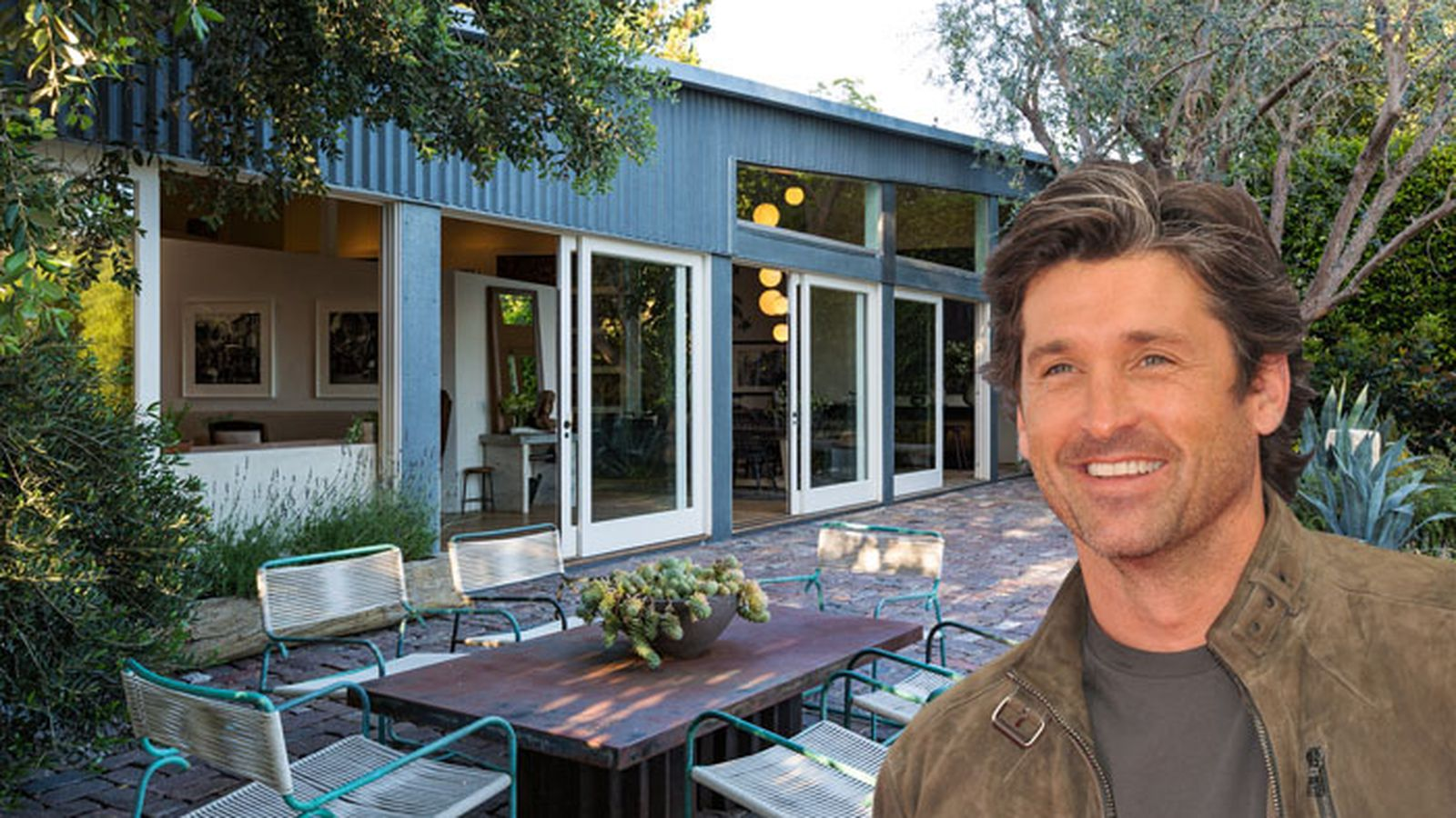 Patrick Dempsey Selling His Metal Clad Frank Gehry House